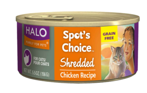Halo Spot's Choice Shredded Chicken Recipe