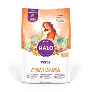 Halo Puppy Food Holistic Chicken & Chicken Liver Recipe