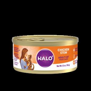 Halo Spot's Stew Grain Free Adult Cat Chicken Recipe