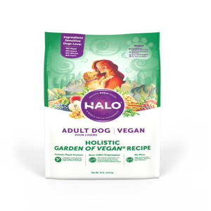 Halo Vegan Adult Dog Holistic Garden of Vegan Recipe