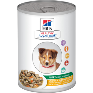 Hill's Healthy Advantage Puppy Chicken and Vegetables Entree