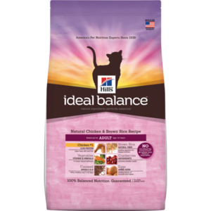 Hill's Ideal Balance Adult Natural Chicken & Brown Rice Recipe