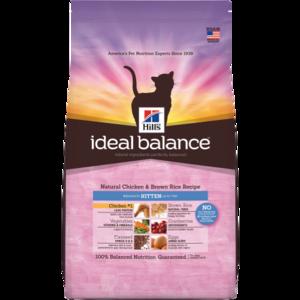 Hill's Ideal Balance Kitten Natural Chicken & Brown Rice Recipe