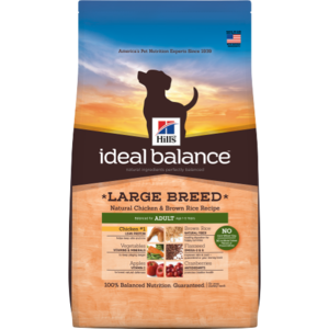 Hill's Ideal Balance Large Breed Adult Natural Chicken & Brown Rice Recipe