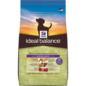 Hill's Ideal Balance Mature Adult Natural Chicken & Brown Rice Recipe
