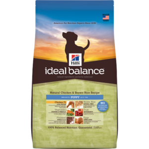 Hill's Ideal Balance Puppy Natural Chicken & Brown Rice Recipe