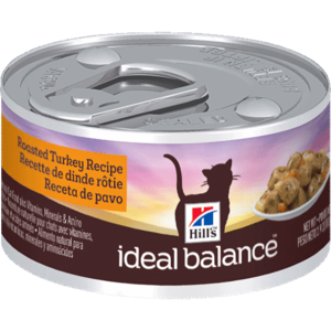 Hill's Ideal Balance Regular Canned Roasted Turkey Recipe