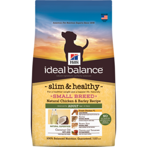 Natural Balance Dog Food Coupons >> Hill's Ideal Balance Slim and Healthy Small Breed Adult Natural Chicken & Barley Recipe | Review ...