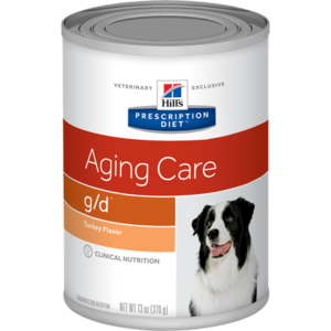 Hill's Prescription Diet Aging Care g/d Turkey Flavor