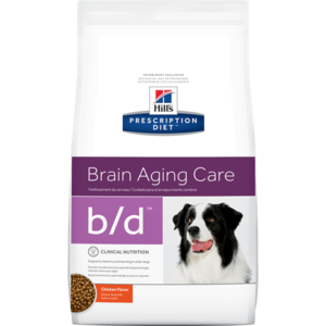 Hill's Prescription Diet Brain Aging Care b/d Chicken Flavor