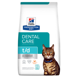 Hill's Prescription Diet Dental Care t/d Chicken Flavor