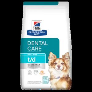 Hill's Prescription Diet Dental Care t/d Small Bites Chicken Flavor