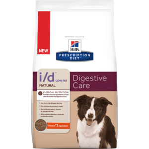Hill's Prescription Diet Digestive Care i/d Low Fat Natural Canine