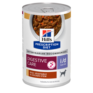 Hill's Prescription Diet Digestive Care i/d Low Fat Rice, Vegetable & Chicken Stew
