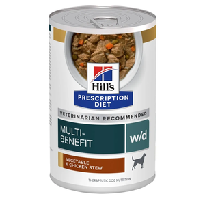 Hill's Prescription Diet Digestive/Weight/Glucose Management w/d Vegetable & Chicken Stew