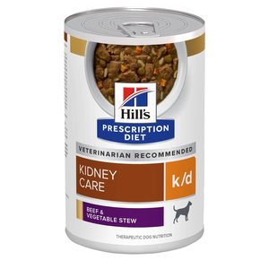 Hill's Prescription Diet Kidney Care k/d Beef & Vegetable Stew