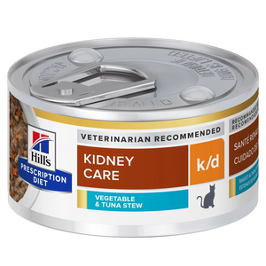 Hill's Prescription Diet Kidney Care k/d Vegetable & Tuna Stew