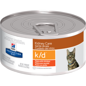 Hill's Prescription Diet Kidney Care k/d Pate With Chicken