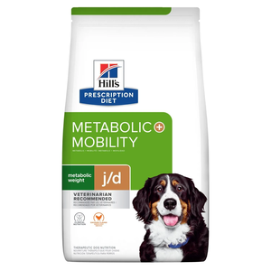 Hill's Prescription Diet Metabolic + Mobility Chicken Flavor