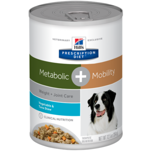 Hill's Prescription Diet Metabolic + Mobility Vegetable & Tuna Stew
