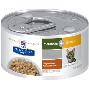 Hill's Prescription Diet Metabolic + Urinary Vegetable & Chicken Stew