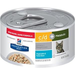 Hill's Prescription Diet Metabolic + Urinary Vegetable & Tuna Stew