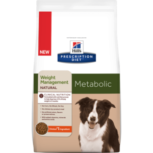 Hill's Prescription Diet Metabolic Weight Management Natural Canine