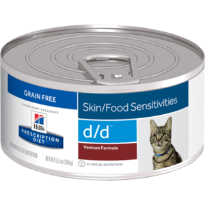 Hill's Prescription Diet Skin/Food Sensitivities d/d Venison Formula