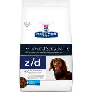 Hill's Prescription Diet Skin/Food Sensitivities z/d Small Bites Original Flavor