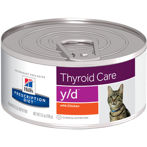 Hill's Prescription Diet Thyroid Care y/d With Chicken