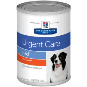 Hill's Prescription Diet Urgent Care n/d With Chicken