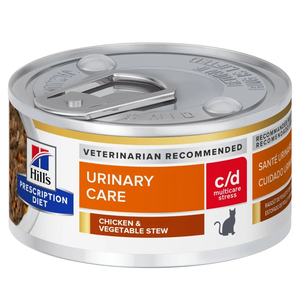 Hill's Prescription Diet Urinary Care c/d Multicare Stress Chicken & Vegetable Stew