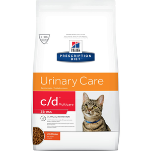 Hill's Prescription Diet Urinary Care c/d Multicare Stress With Chicken