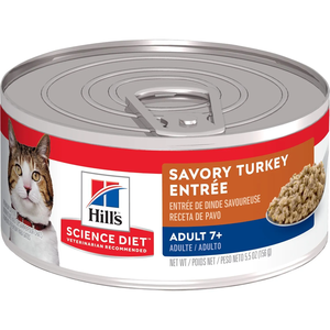 Hill's Science Diet Adult 7+ Savory Turkey Entree