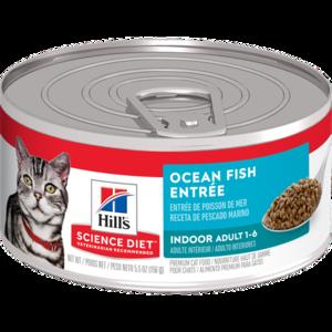 Hill's Science Diet Adult Indoor Ocean Fish Entree