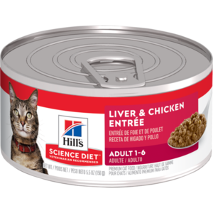 Hill's Science Diet Adult Liver & Chicken Entree