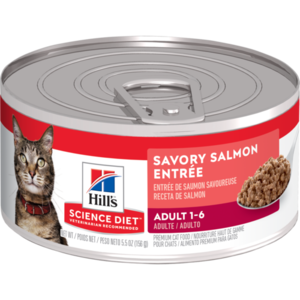 Hill's Science Diet Adult Savory Salmon Entree