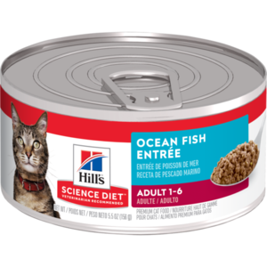 Hill's Science Diet Adult Ocean Fish Entree