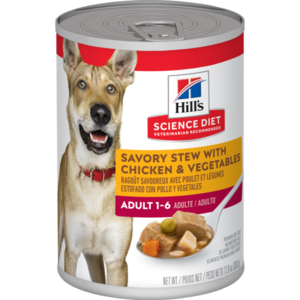 Hill's Science Diet Adult Savory Stew With Chicken and Vegetables