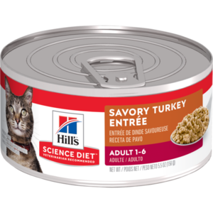Hill's Science Diet Adult Savory Turkey Entree