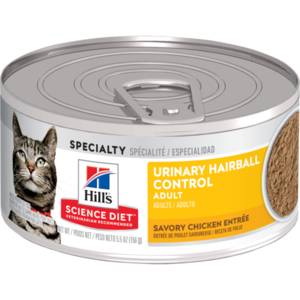 Hill's Science Diet Adult Urinary Hairball Control Savory Chicken Entree