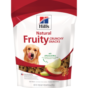 Hill's Science Diet Fruity Snacks With Apples & Oatmeal