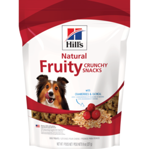 Hill's Science Diet Crunchy Fruity Snacks With Cranberries & Oatmeal