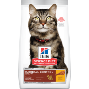 Hill's Science Diet Hairball Control Adult 7+ Chicken Recipe