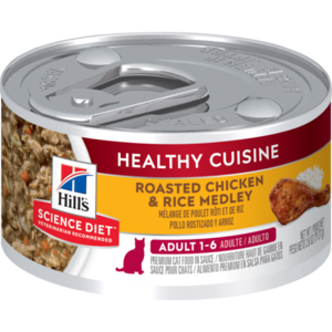 Hill's Science Diet Healthy Cuisine Adult Roasted Chicken & Rice Medley
