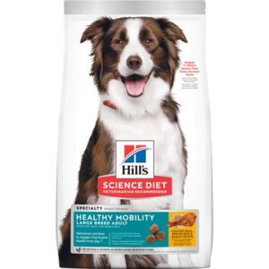 Hill's Science Diet Healthy Mobility Large Breed Adult Chicken Meal & Rice Recipe