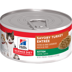 Hill's Science Diet Kitten Savory Turkey Entree