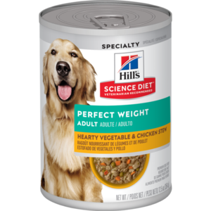 Hill's Science Diet Perfect Weight Adult Hearty Vegetable & Chicken Stew