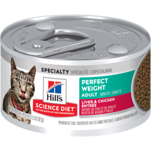 Hill's Science Diet Perfect Weight Adult Liver and Chicken Entree