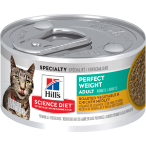 Hill's Science Diet Perfect Weight Adult Roasted Vegetable & Chicken Medley